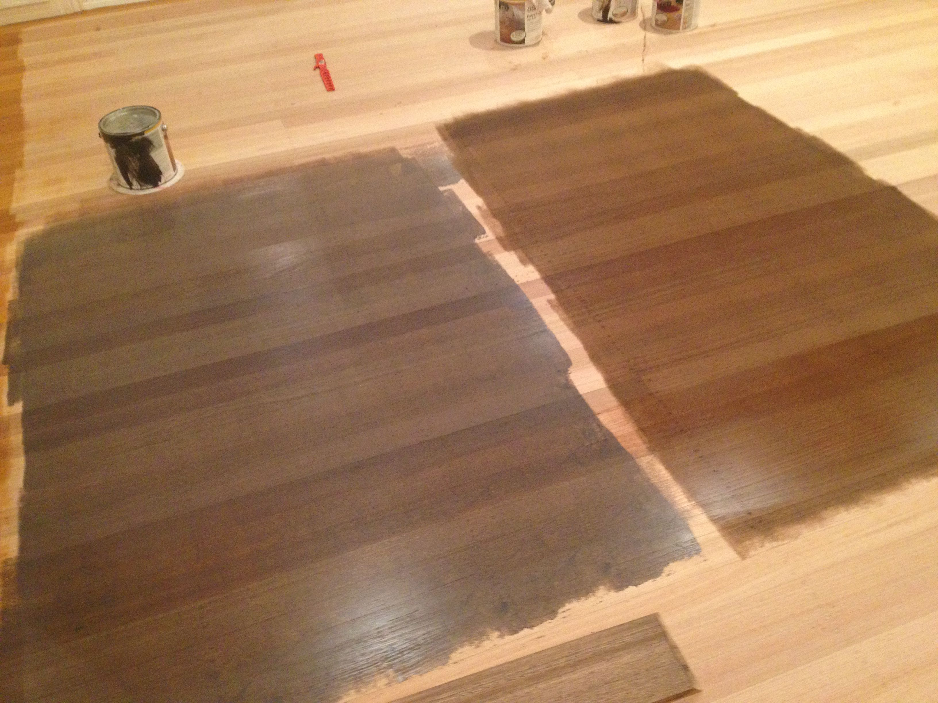 Osmo graphite and osmo antique oak at night flooring for Hardwood floor color options