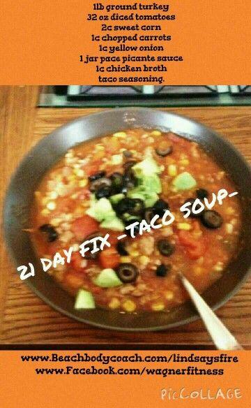 recipe: healthy taco soup with ground turkey [28]