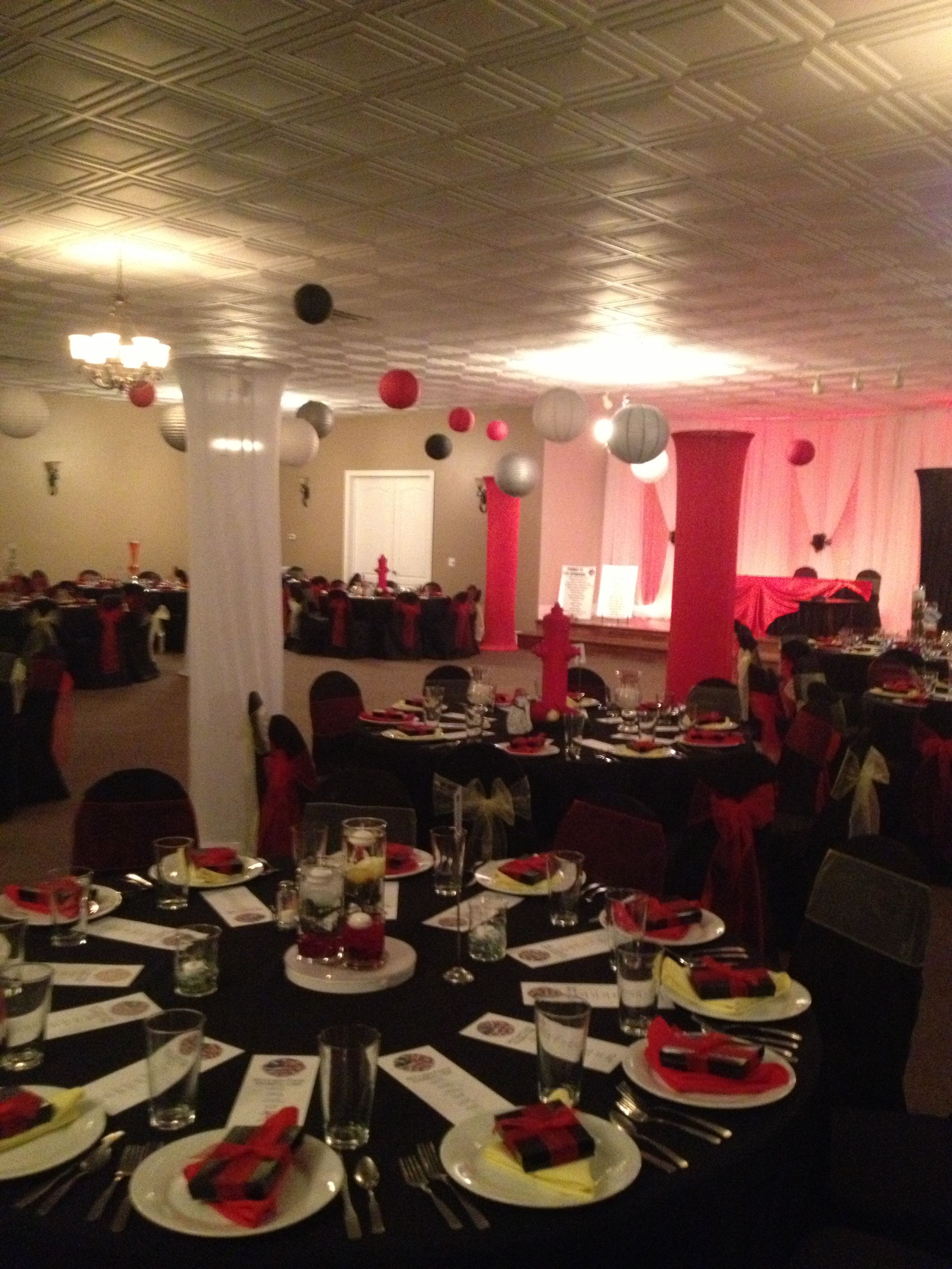 Firemen s ball fire department banquet pinterest
