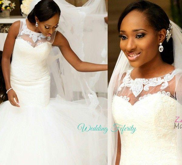 Image result for nigerian wedding dresses | I Do... We Did | Pinterest