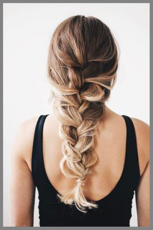 The Best FishTail Hairstyle for Womens with Long Brown Hair in 2019  #loosebraids
