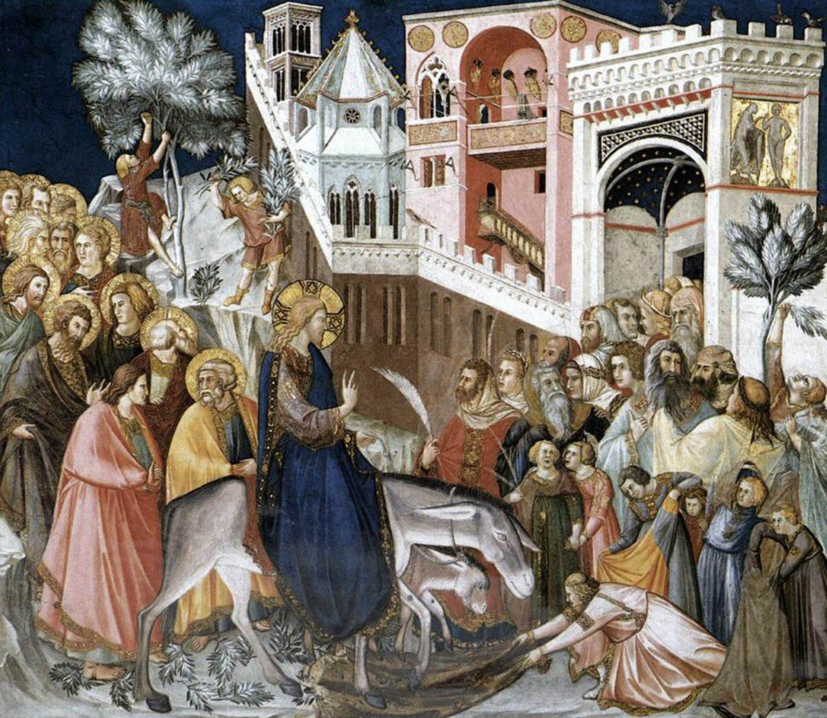The Final Sunday Before Easter Is Palm Sunday Commemorating