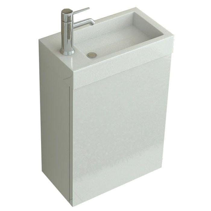 Details zu WC Badmöbel Badset Aarau weiss Waschbecken Waschtisch - ebay küchen neu