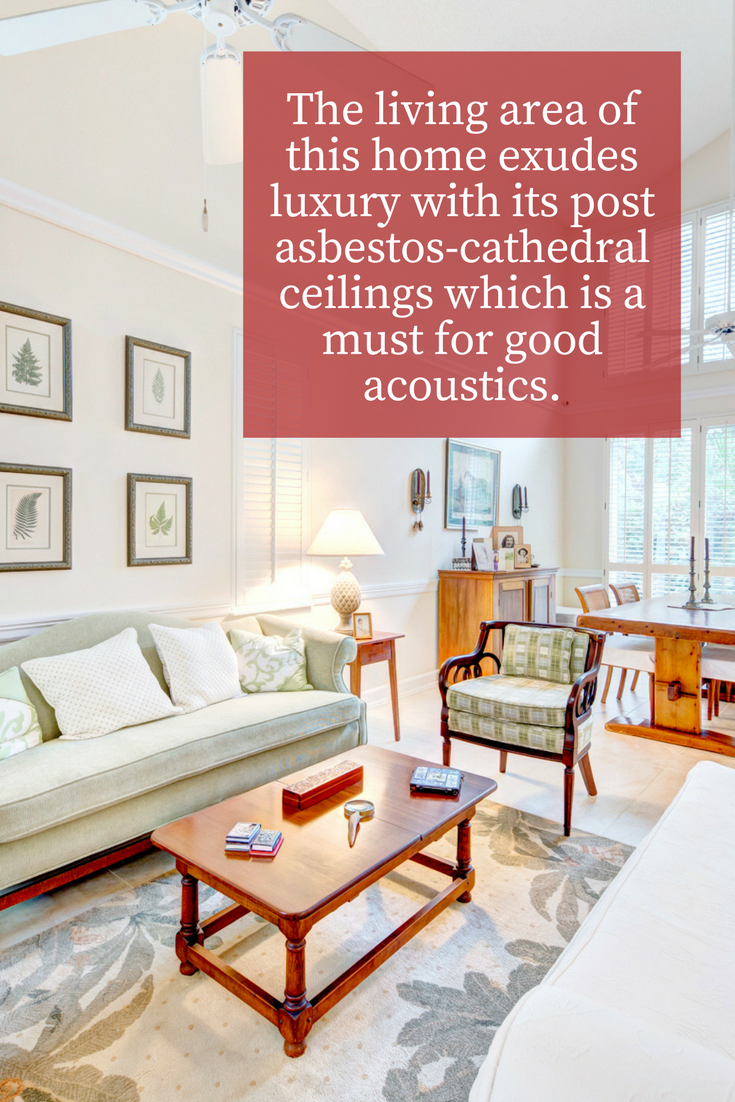 An open luxurious living area ensures that those quality times with loved ones are ones to look forward to!