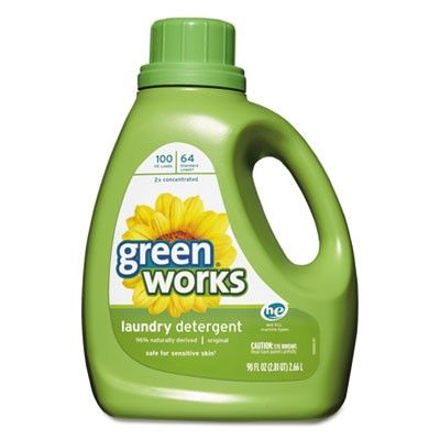 Green Works Liquid Laundry Detergent With Images Green Laundry