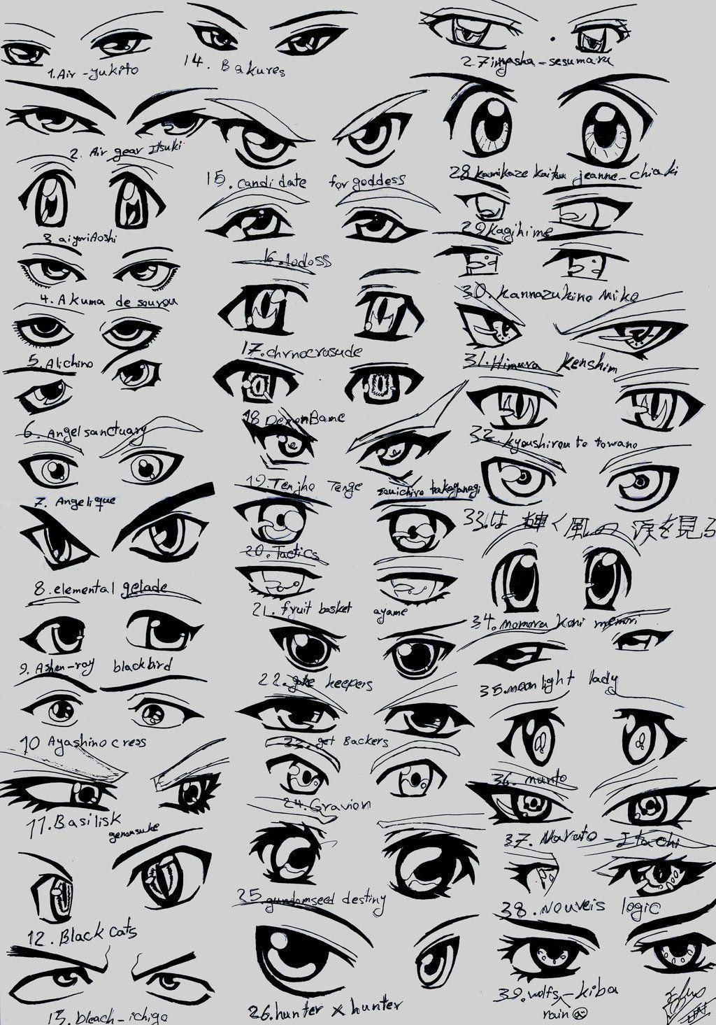 39 Male Anime Eyes How To Draw Anime Eyes Anime Eye Drawing Manga Eyes