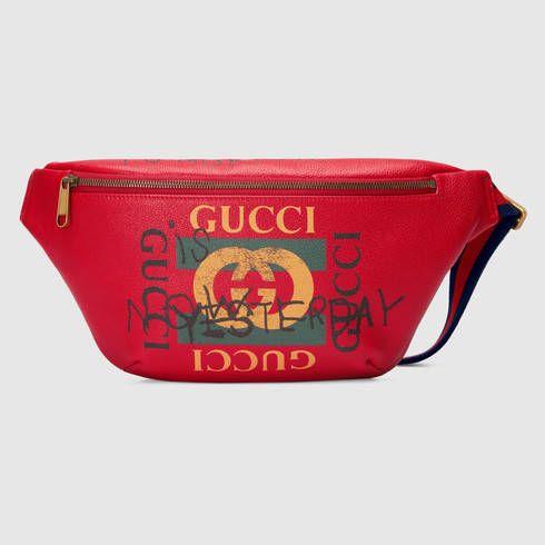 cb2e439a63cd GUCCI Gucci Coco Capitán Logo Belt Bag. #gucci #bags #leather #belt bags #