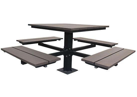 Sunperk Site Furnishings Picnic Table SPP Site Furnishings - Commercial outdoor picnic table store