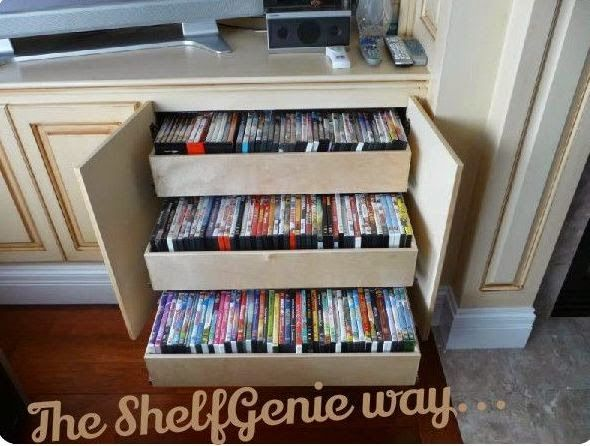 Serenity Now 10 Ways To Organize Dvds Organizing Tips And