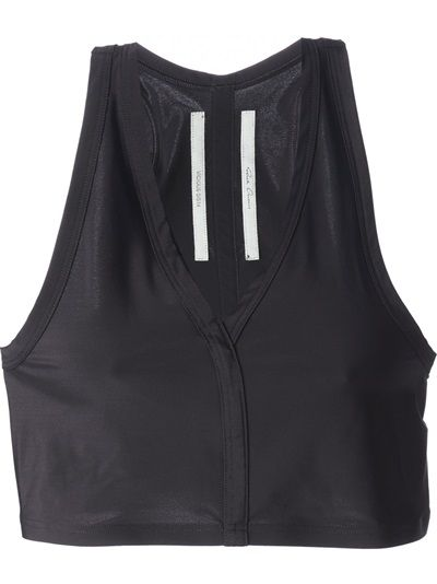 RICK OWENS Woven Cropped Top