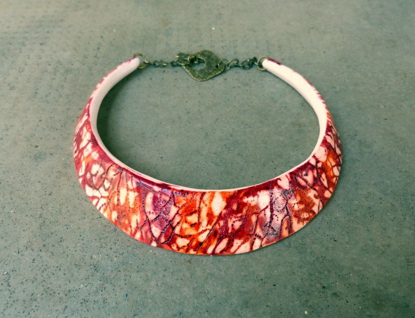 Necklace by AKAK   Polymer Clay Planet