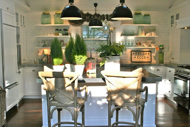 The Polished Pebble blog...amazing finishes and beautiful styling. I LOVE this kitchen and you should definitely visit the blog and the blogs she follows!