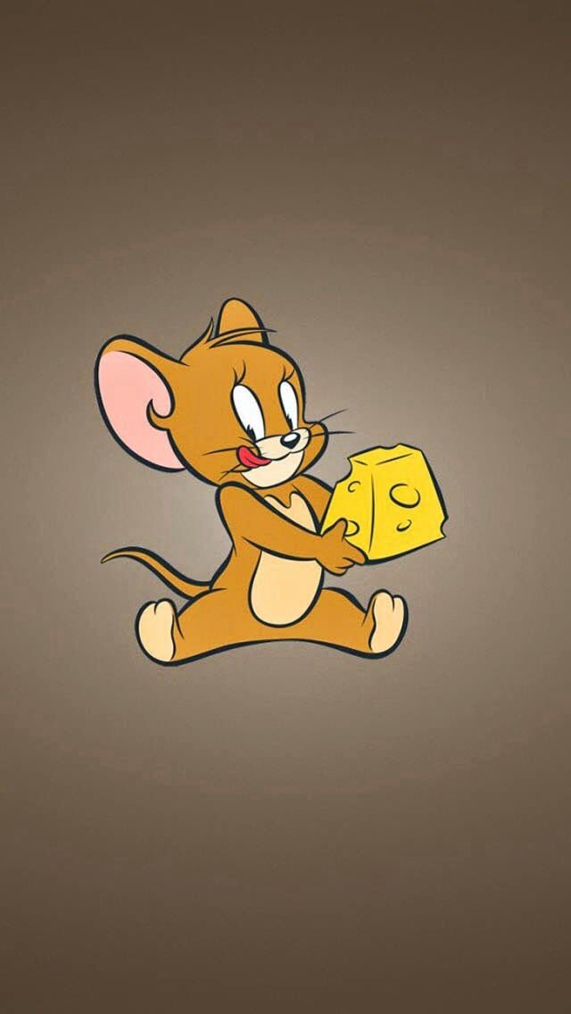 Jerry mouse with cheese! Tom and jerry wallpapers, Tom