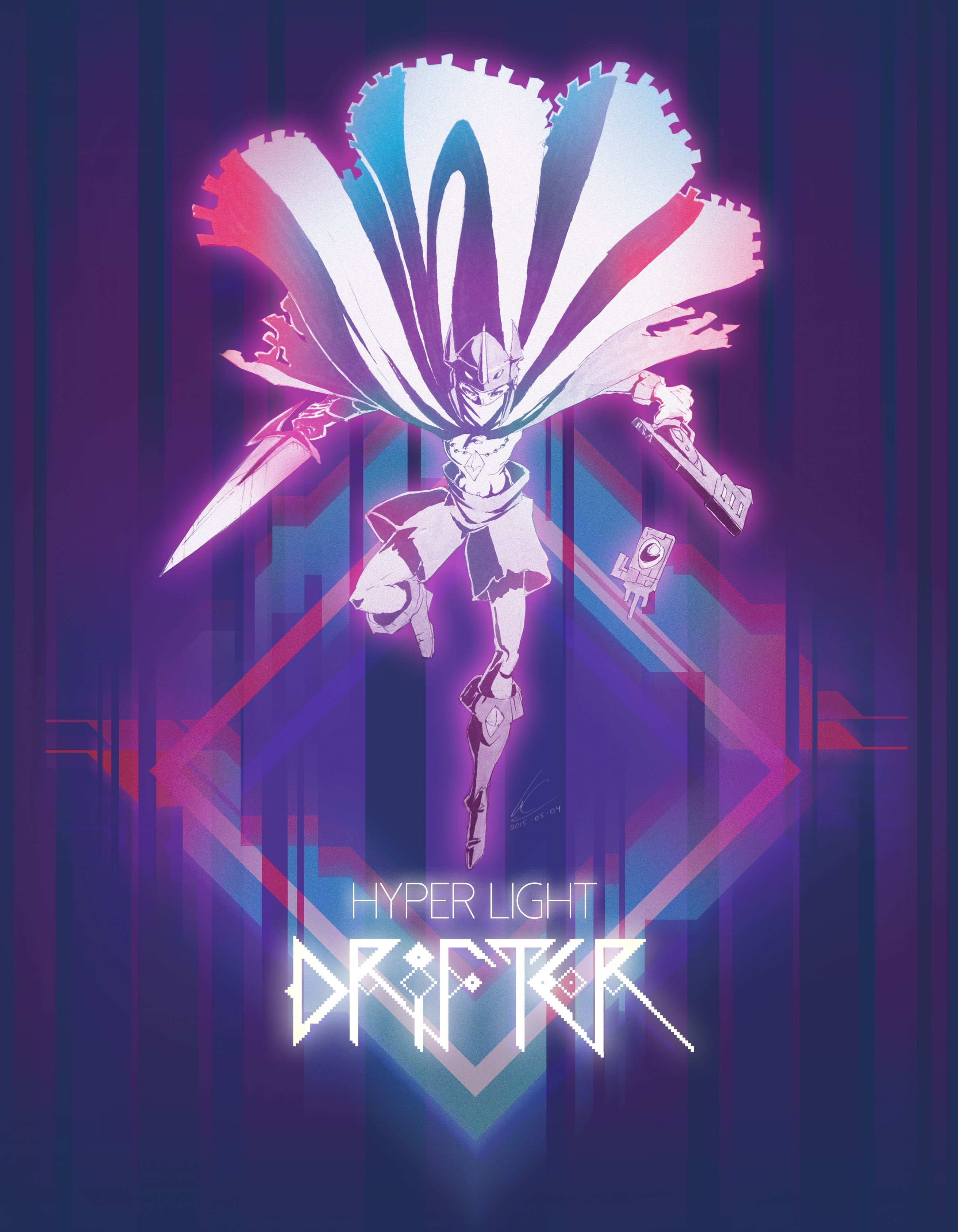 Hyperlightdrifter Deviantart Hyper Light Drifter Wallpaper Indie Game Art Drifter