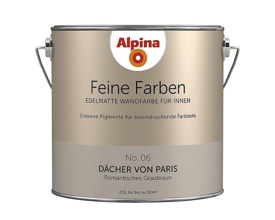 Feine Farben »Dächer von Paris« Wohnzimmer Pinterest - wohnzimmer farbe grau braun