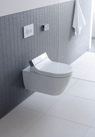 Sensowash Starck Pures Wohlgefuhl Im Besten Design Das Badezimmer Ist Fur Philippe Starck Kein Neul Wall Hung Toilet Bathroom Toilets Wall Mounted Toilet