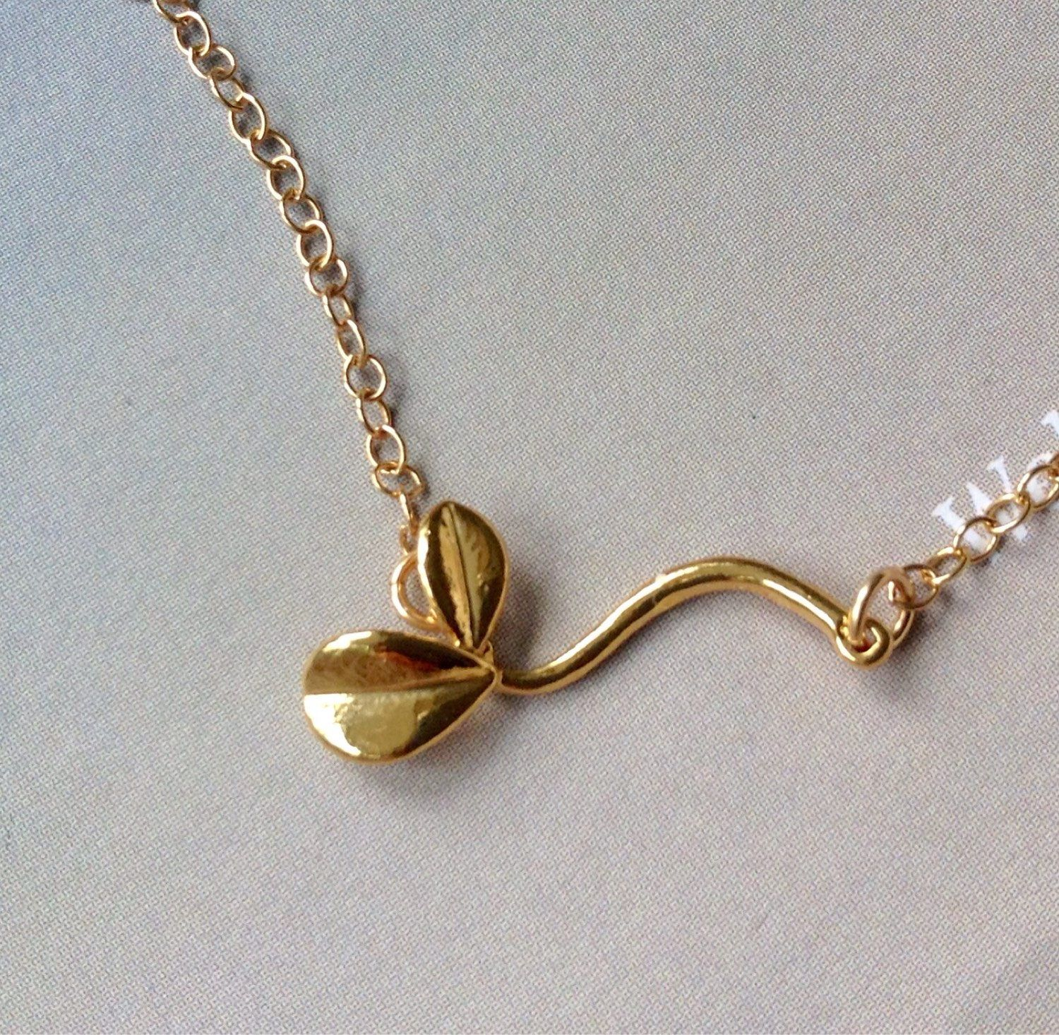 oval necklace yellow and pearl shop pea jewellery gold white sweet