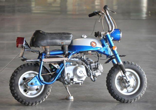 1969 Honda Mini Trail Z50 Mini Motorbike Honda Bikes Honda