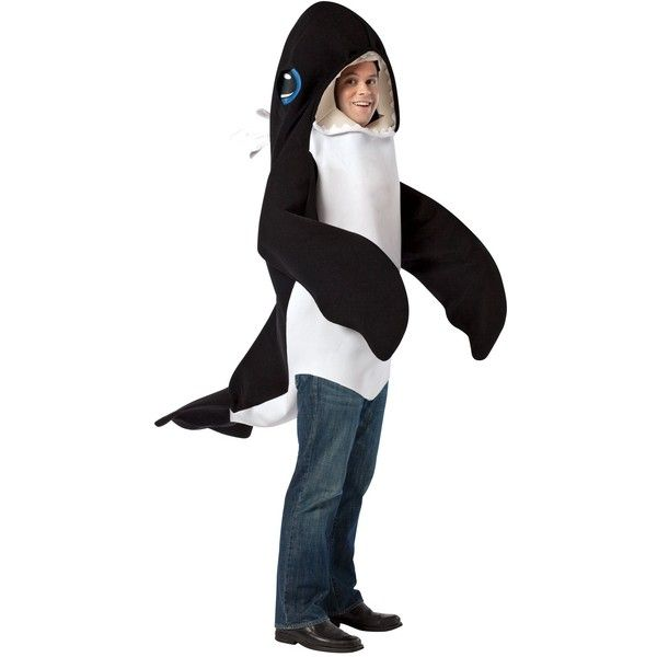 killer whale adult costume 60 liked on polyvore featuring halloween costumes pink - Halloween Costume Shark