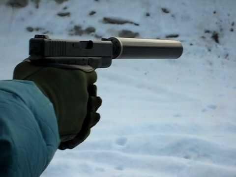 Glock 26 with home made supressor - http://fotar15.com/glock-26-with-home-made-supressor/
