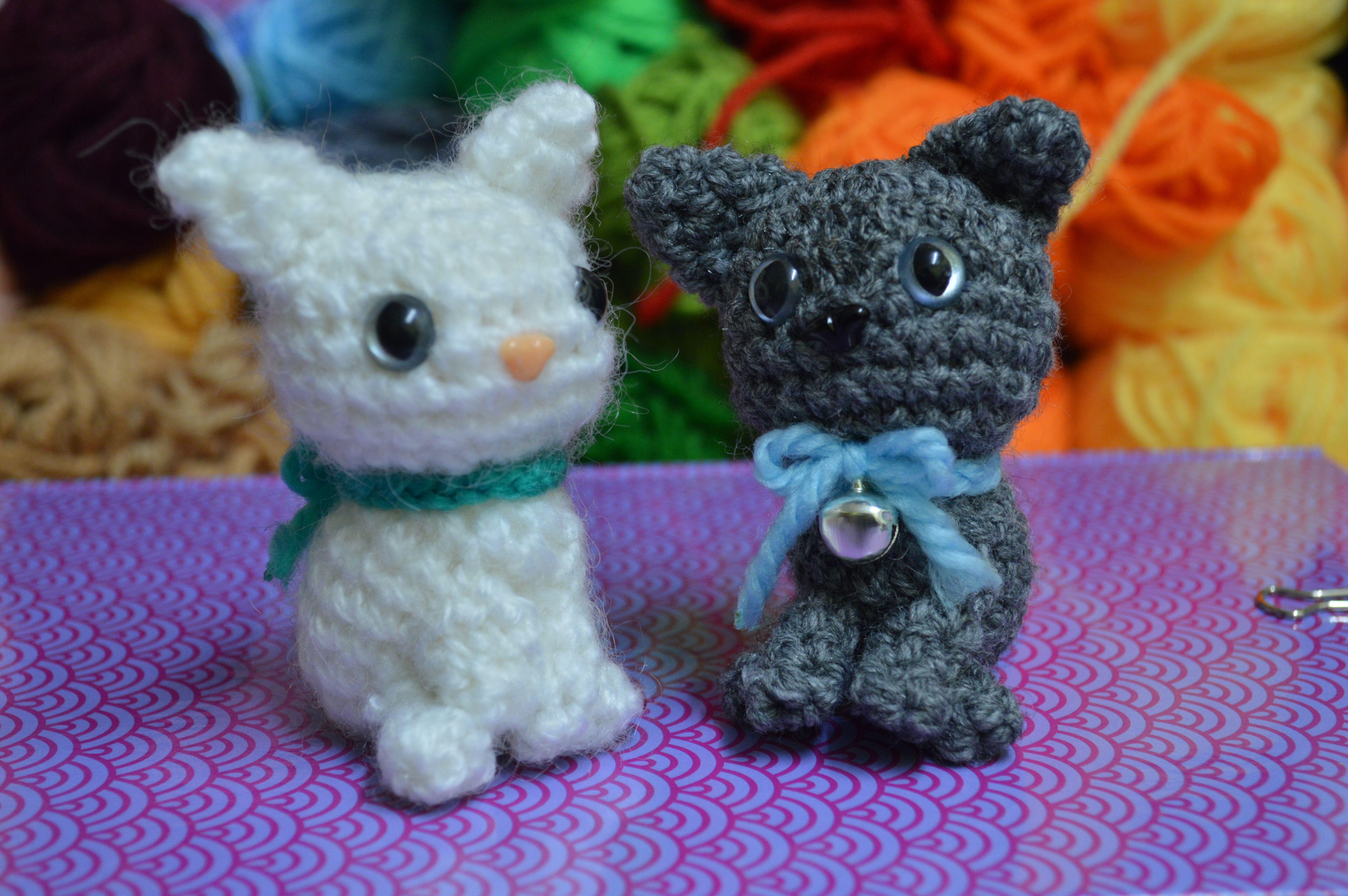 Amigurumis Gatos Patrones Gratis : Patrón gatito nuevo yo patrones y llaveros