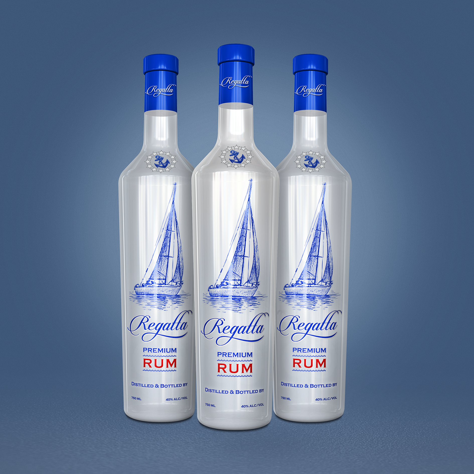 Design #26 by BDV | Label for World's First Ultra Premium Rum