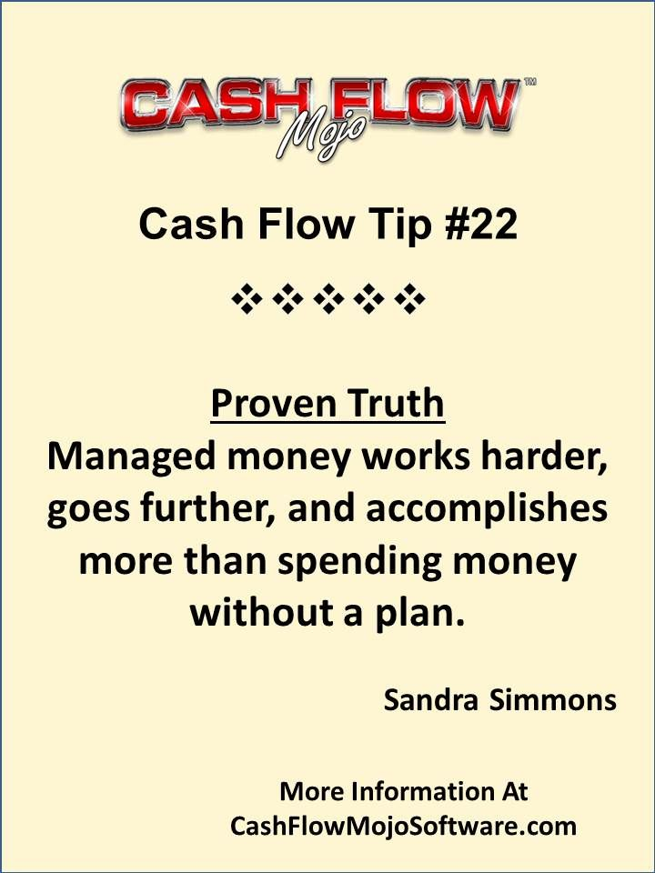 Cash Flow  Money Management Quote Sandrasimmons Http