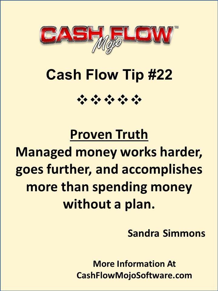 Cash Flow - Money Management #quote #sandrasimmons http - audit quotation