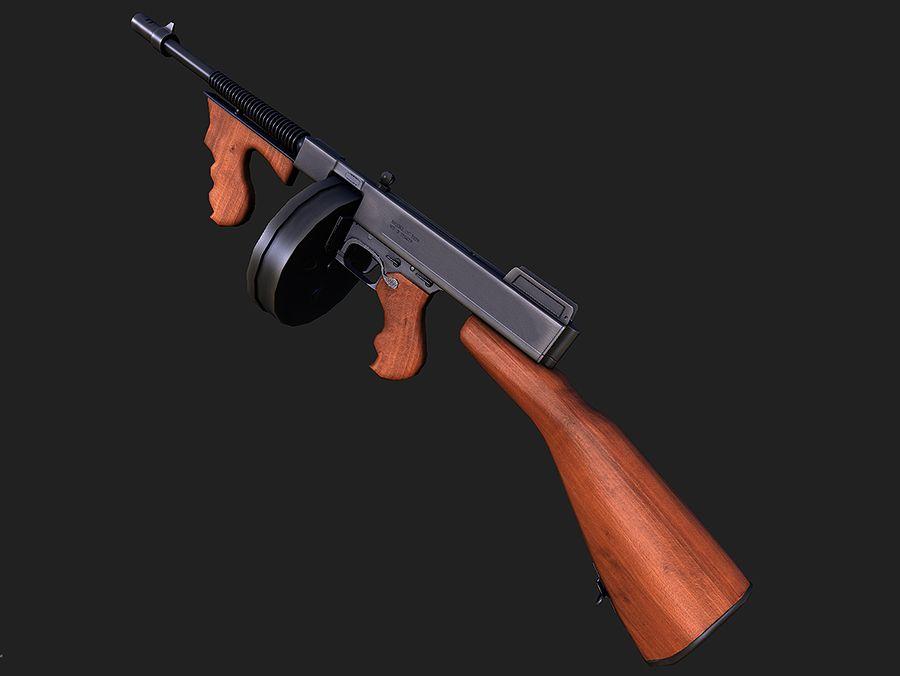 Оружие мафии в картинках