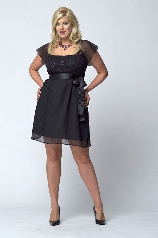 Gorgeous Elegant Black Dress Plus Size Ideas 70 Outfit Style