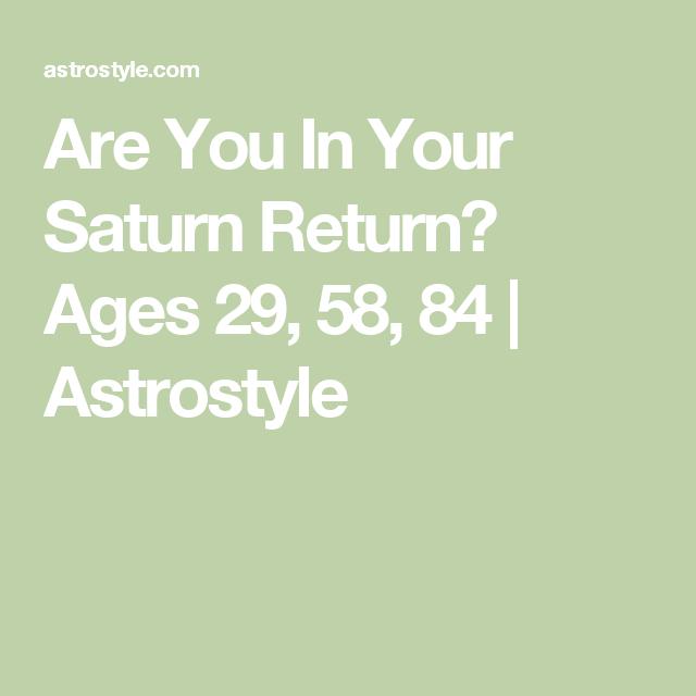 Your Saturn Return A Cosmic Rite Of Passage Saturn Return
