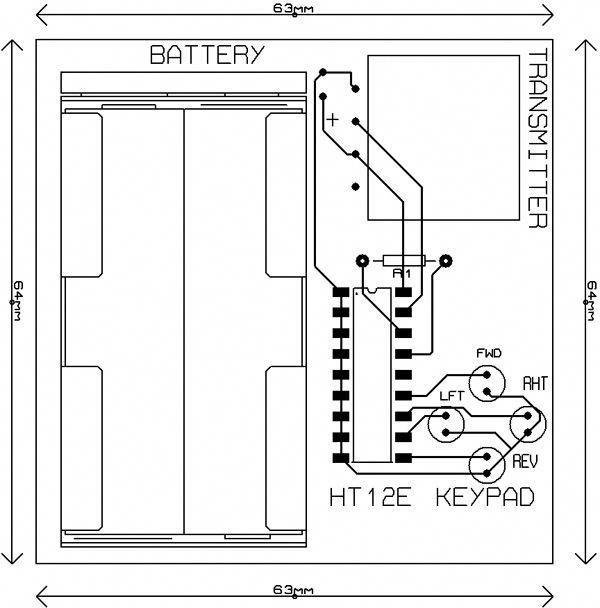 pcb-layout-rc-car-remote | Rc cars, Rc car remote, Remote ...