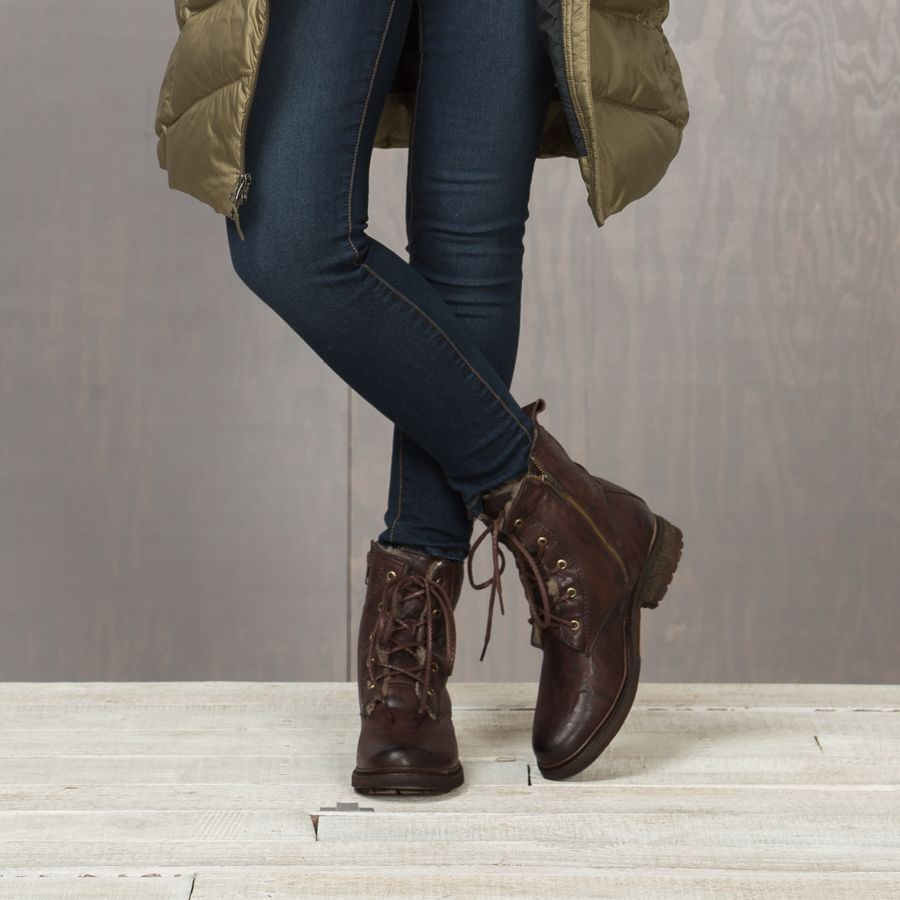 Womens casual boots, Shearling boots, Boots