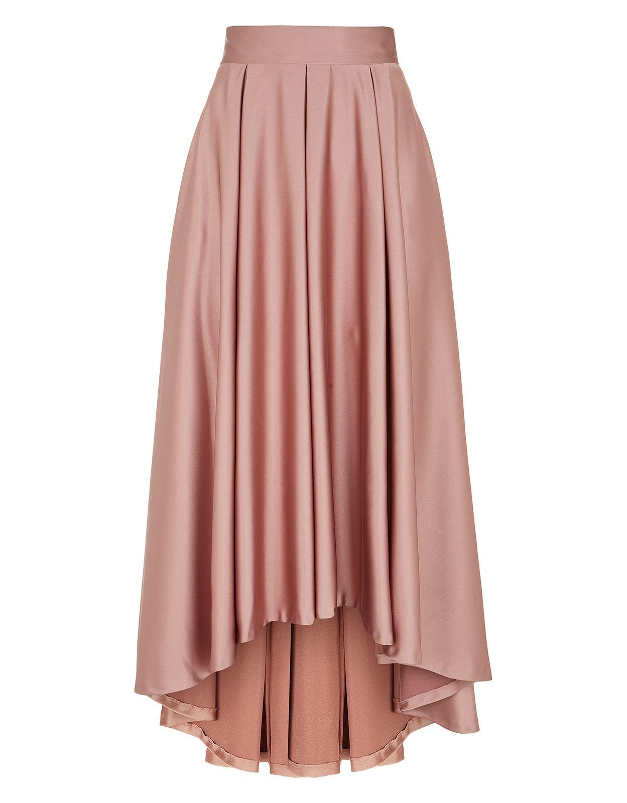 Rose Hi Lo Skirt | maxi skirt | Pinterest