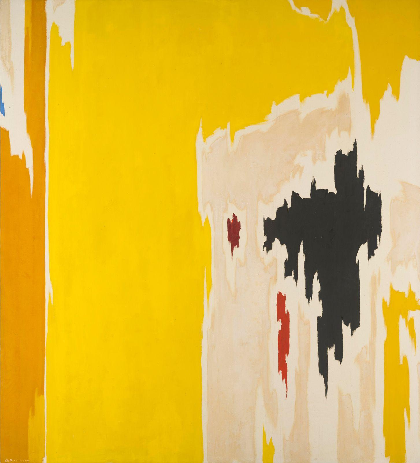 PH-1074 CLYFFORD STILL PH-1074, 1956 Oil on canvas 117 x 108 in., in ...