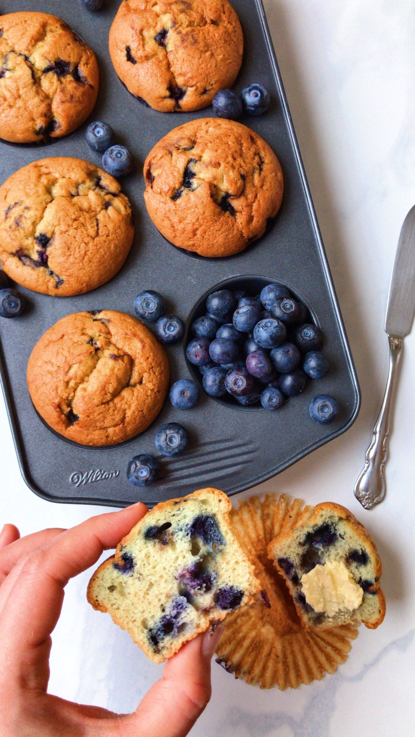 Healthy Blueberry Muffins – The Dish On Healthy