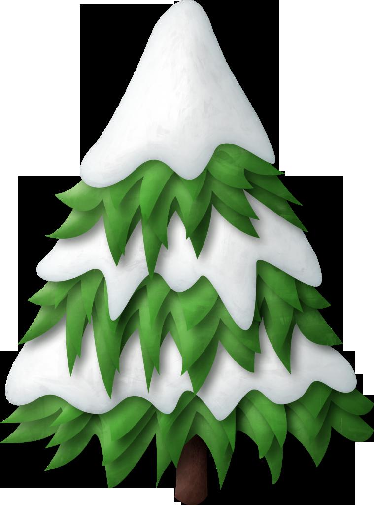Картинки елочка в снегу для детей