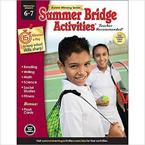"""Free"""" summer Bridge Activities - Grades 6 - 7, Workbook ..."""