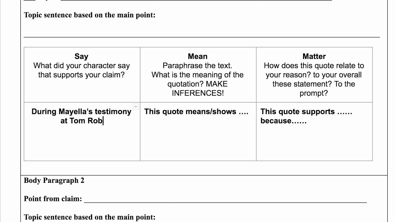 Say Mean Matter Chart Google Search Topic Sentence Quotation Sayings What Doe A Paraphrase In English Poetry Quizlet