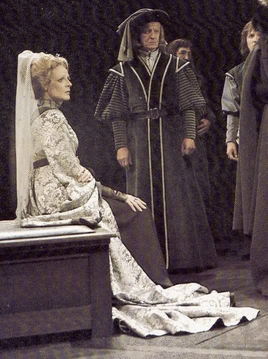 "Maggie Smith, ""Richard III"", Stratford, Ontario, 1977."