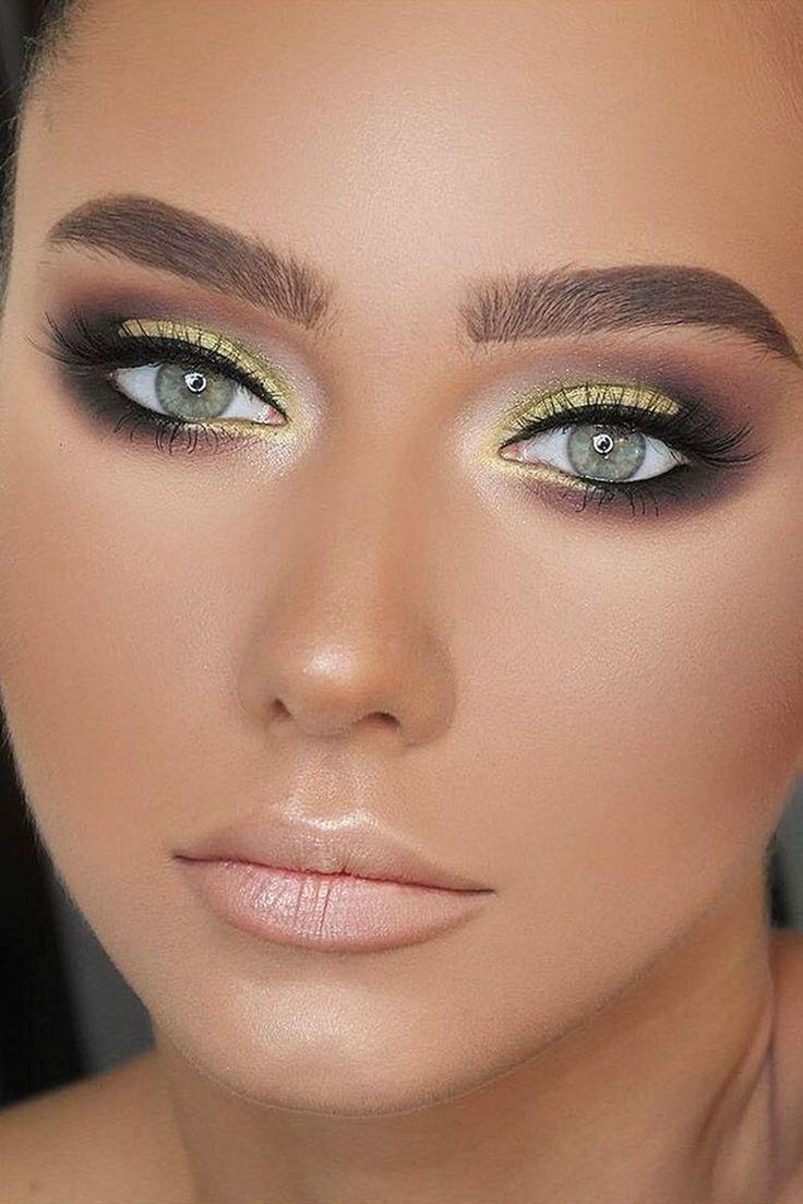 41 ideas perfectas para el maquillaje de ojos verdes – #Eye #green #ideas #Maquillaje #perfecto