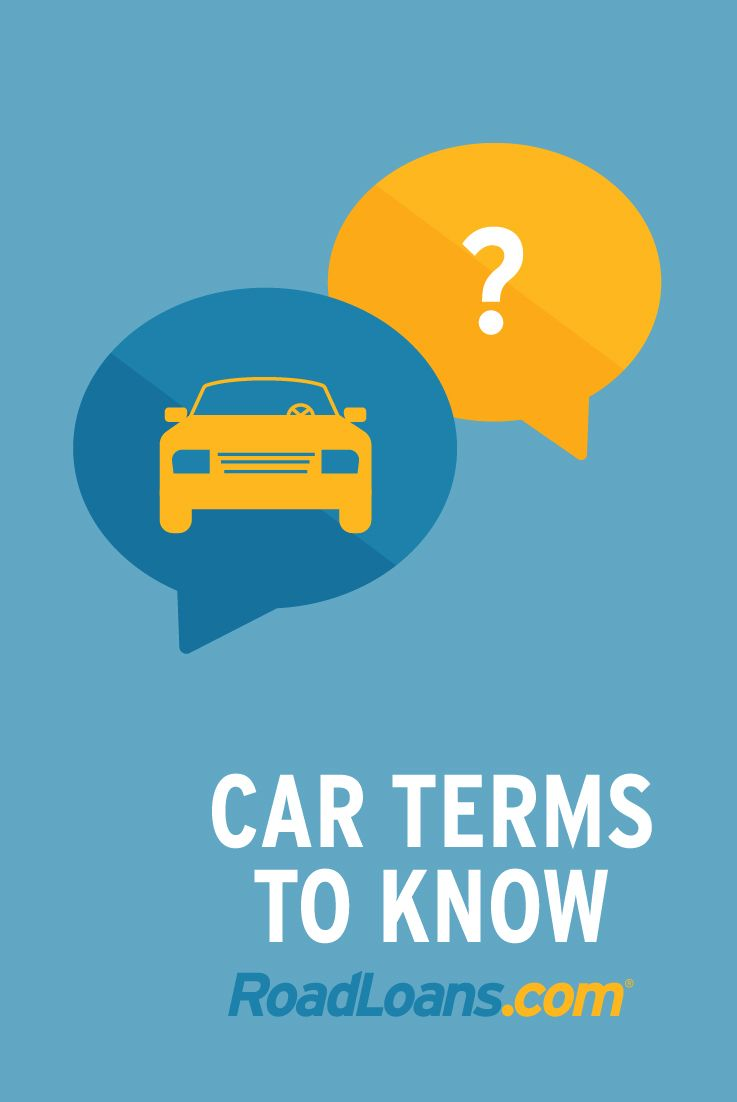 Useful Car Terms To Know Used Cars Movie Car Finance Car Purchase