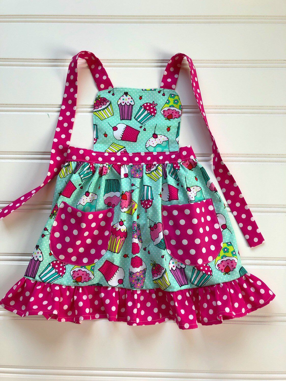 Apron For Kids Child Apron Kids Cooking Apron Toddler