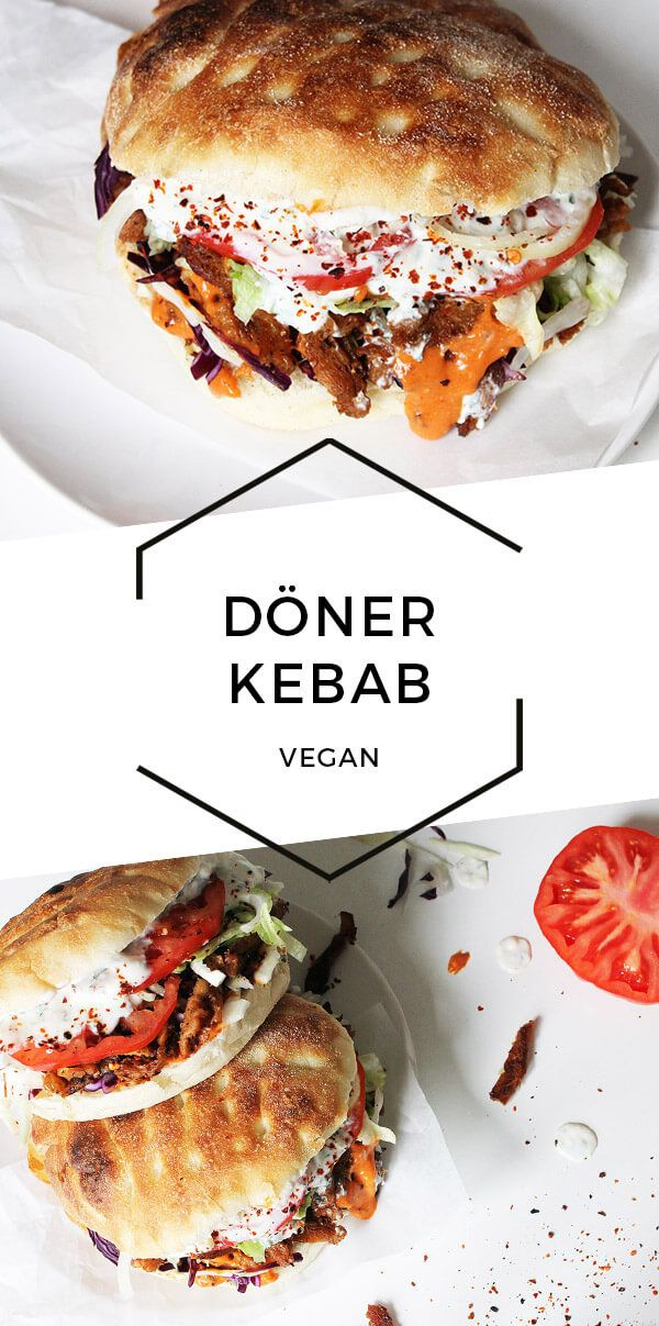 Photo of Vegan Döner Kebab with Two Sauces | Cheap And Cheerful Cooking
