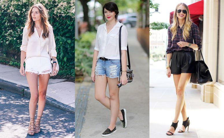 249dc4aa4 Camisa feminina: como criar looks elegantes com essa peça | Looks ...