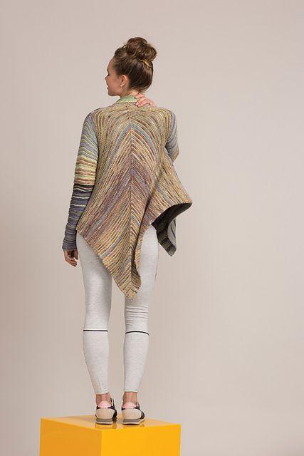 Ravelry: Garter Rectangular Jacket pattern by Annie Modesitt | Lana ...