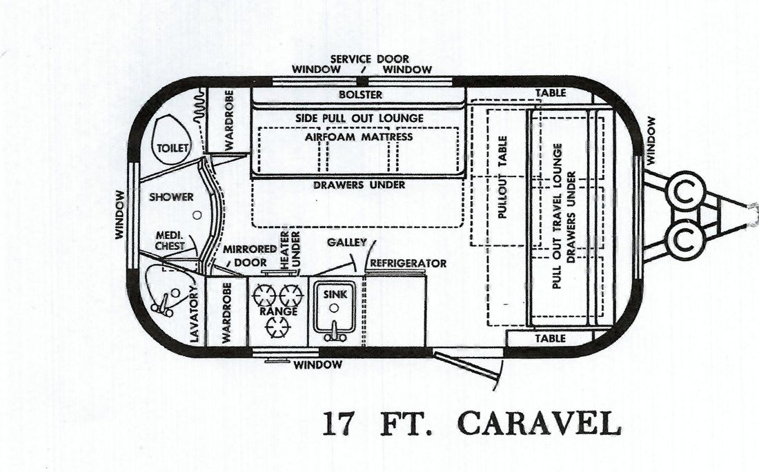The History And The Plans Travel Trailer Floor Plans Tiny Houses For Sale Vintage Airstream