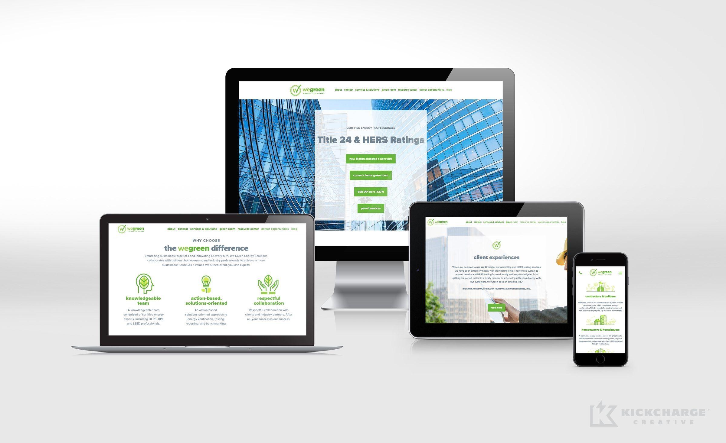 Website Design And Development For This California Based Energy Solutions Company Nj Advertising Agency Nj A Portfolio Web Design Web Design Website Design