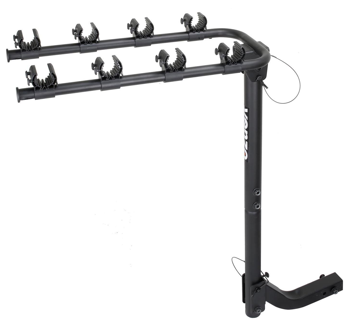 Venzo 4 Bicycle Bike Rack Hitch Mount Car Carrier 2