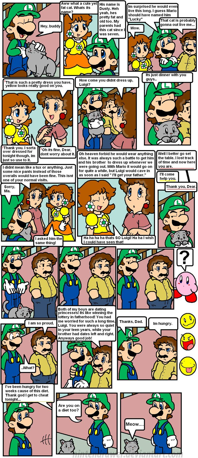 Meet Zah Marios Pg 6 Mario Comics Mario Super Mario Bros